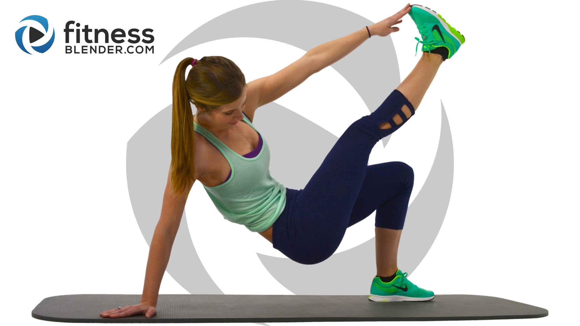 24 Minute At Home Abs Workout - Ab Blasting Interval ...