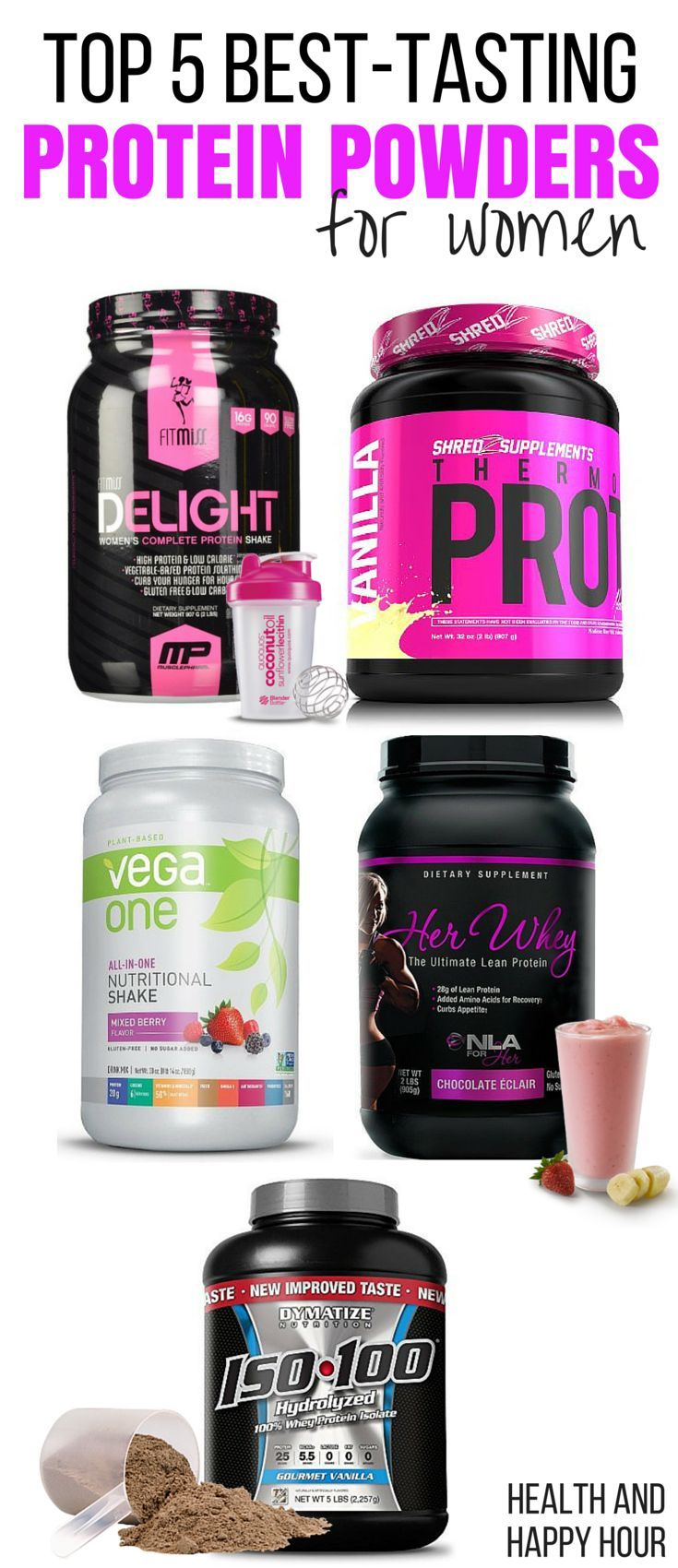 What are good protein shakes for women?