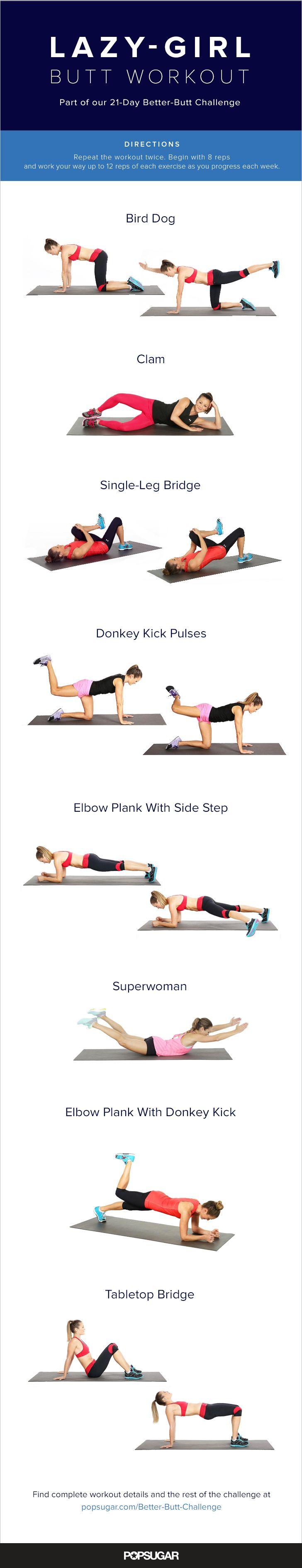 lazy girl workout plan pdf