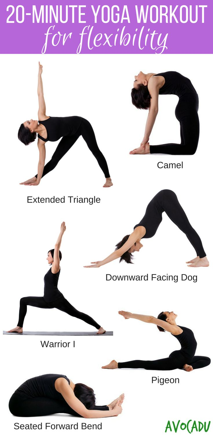 Best Yoga Poses Workouts 20 Minute Beginner Workout Routine