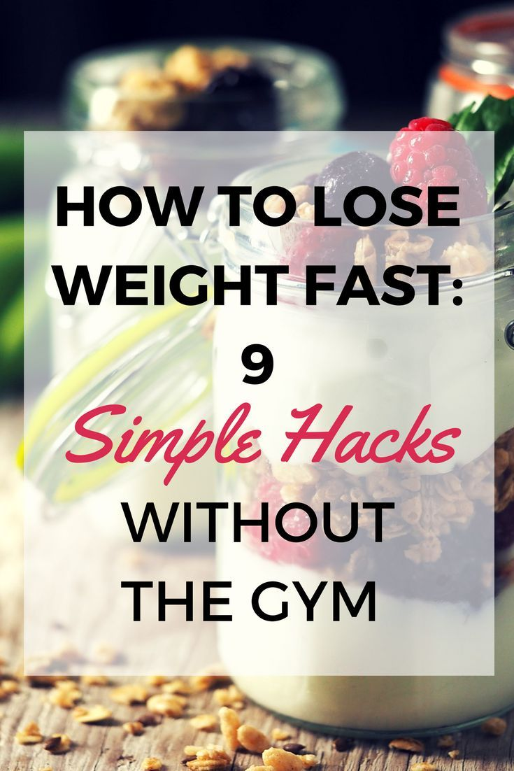 how to lose weight fast without a diet plan