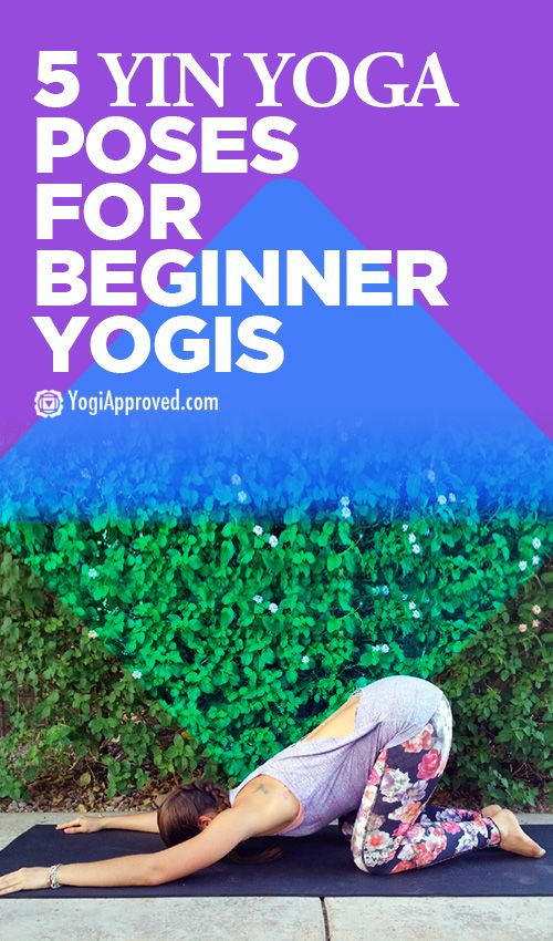 Yoga Poses Workouts For Beginners 5 Yin Yoga Poses For Beginner Yogis Fitnessviral Magazine Your Number One Source For Daily Health And Fitness Motivation