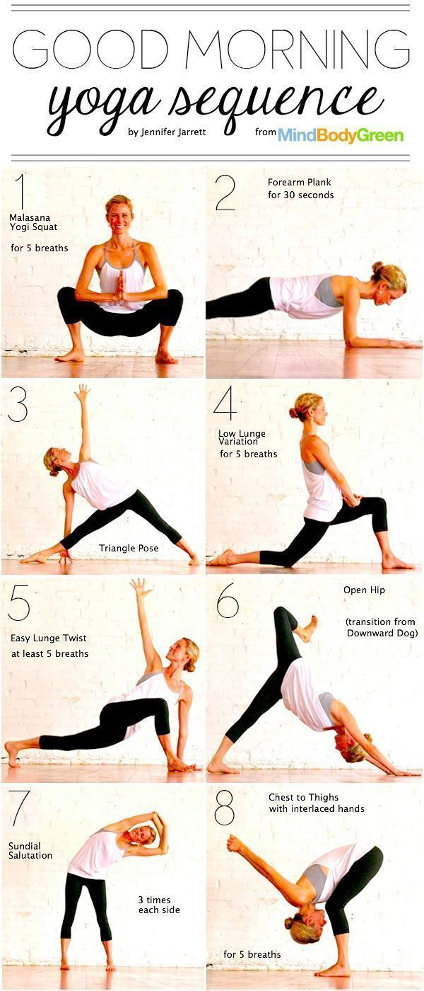 Description Good Morning Yoga Sequence