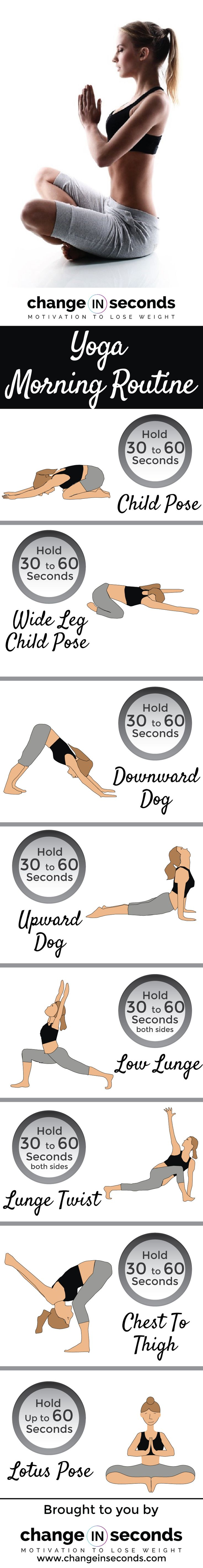Yoga Poses Workouts For Beginners Yoga Morning Routine Download Pdf Www Changeinsecon Fitnessviral Magazine Your Number One Source For Daily Health And Fitness Motivation