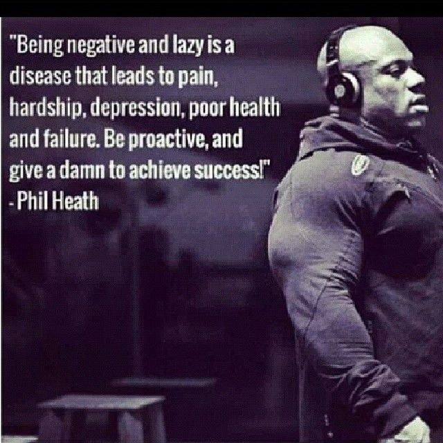 Fitness Quote About Training : Letting Mr. Heath hype me up ...