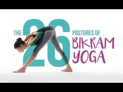 workout  bikram yoga workout   60 minute hot yoga with
