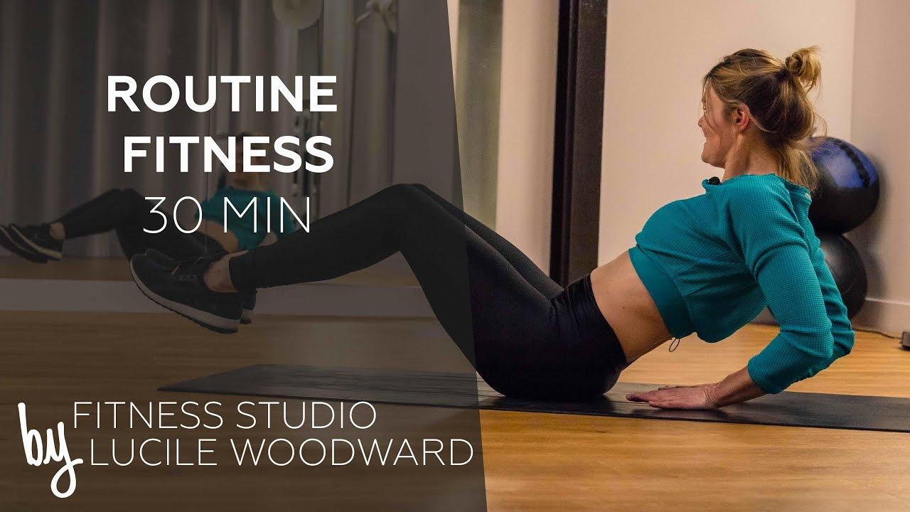workout routine fitness sans mat riel 30 min fitness studio by lucile fitnessviral. Black Bedroom Furniture Sets. Home Design Ideas