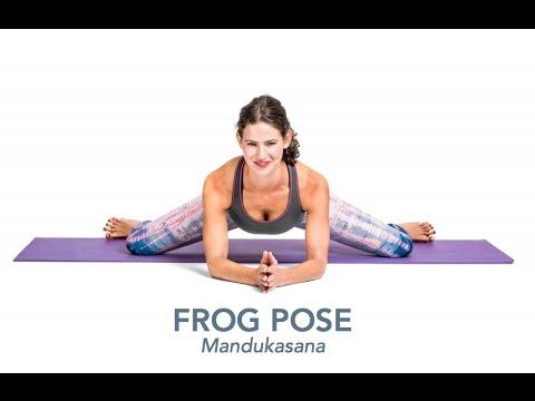 workout  yoga poses  articles  frog pose mandukasana