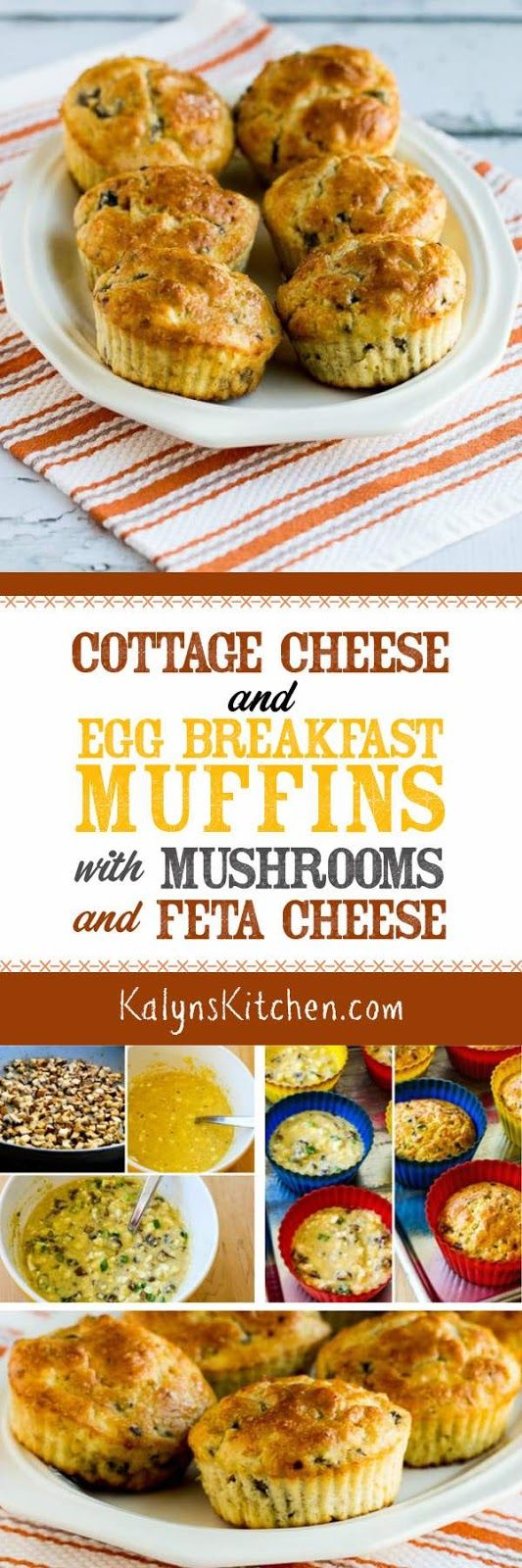 Healthy Recipes : Cottage Cheese and Egg Breakfast Muffins ...