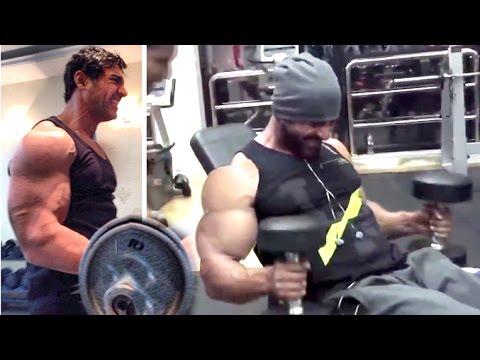Workout : All John Abraham's Intense Gym Bodybuilding ...