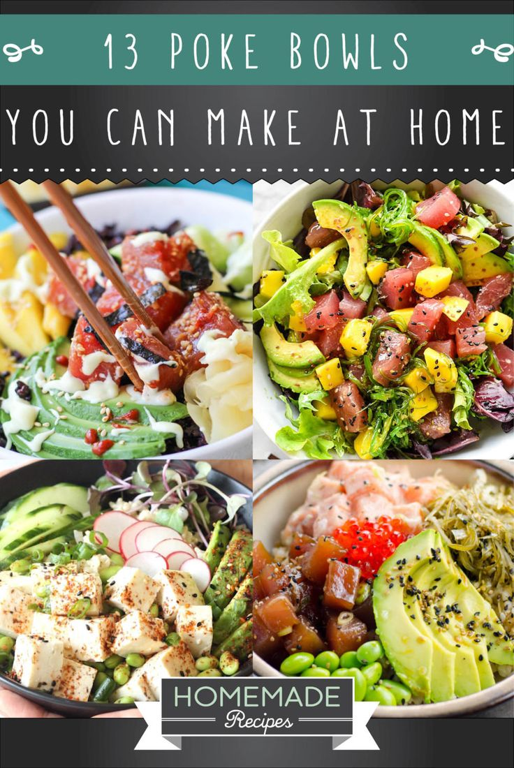 Diet Plans 13 Poke Bowl Recipes To Try At Home