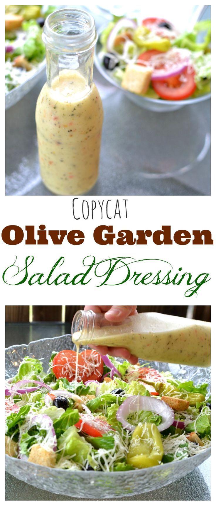 Diet plans copycat olive garden salad dressing fitnessviral magazine your number one for Olive garden salad dressing recipe secret