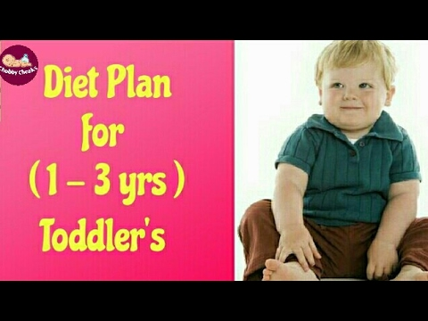 Sample Diet Plans/Food Chart for Toddlers, Toddler Friendly Meals