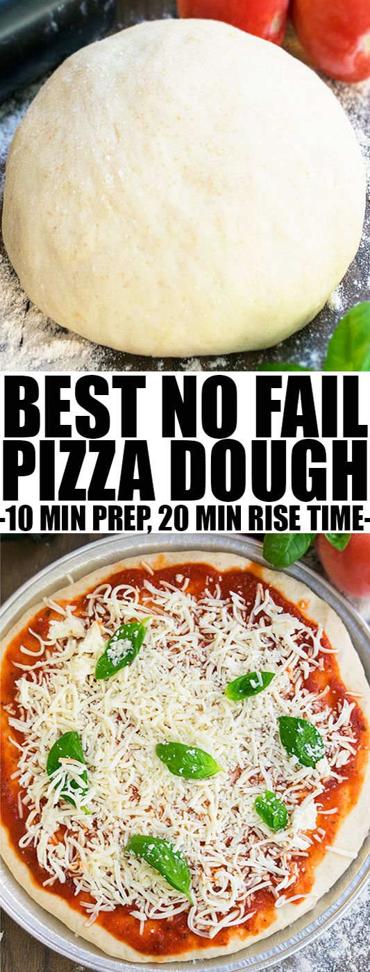 how to make quick healthy pizza dough