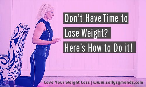 how to lose weight when i have no motivation