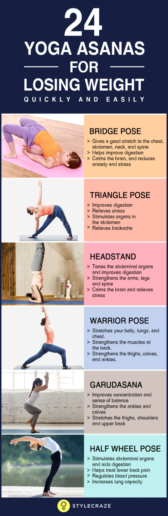 Yoga Poses Workouts For Beginners Stylecrazeco
